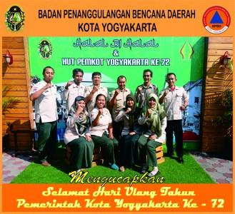 Selamat Hari Ulang Tahun Pemerintah Kota Yogyakarta Ke - 72