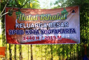 HALAL BIHALAL KELUARGA BESAR BPBD KOTA YOGYAKARTA 1440 H / 2019 M