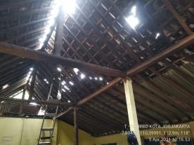 Atap Rumah Terbang Di Rejowinangun Kotagede