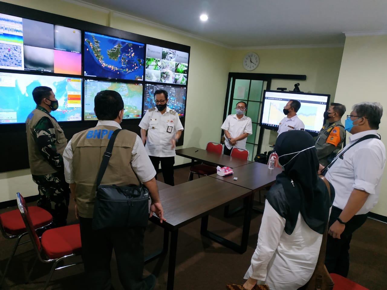 Kunjungan Kerja Tim Satgas Covid19 BNPB Pusat di Kota Yogyakarta